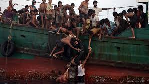 Rohingya at sea