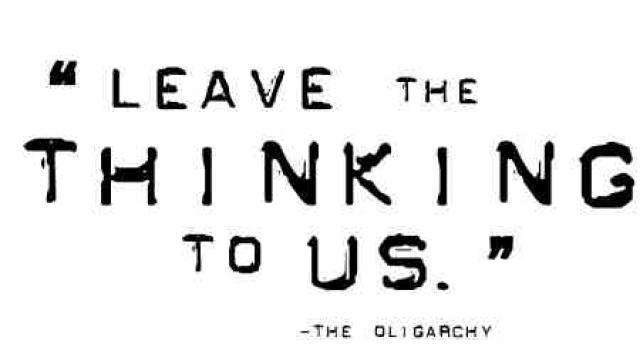 oligarchy-thinking