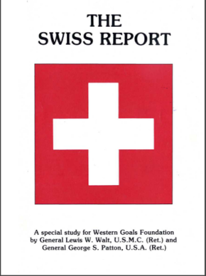 swiss report cover