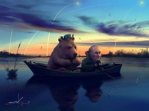PutinAndBear