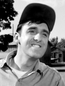 Jim Nabors as Gomer Pile in The Andy Griffith Show Image Source: http://www.andygriffithshow.net/gallery/displayimage.php?album=6&pos=107