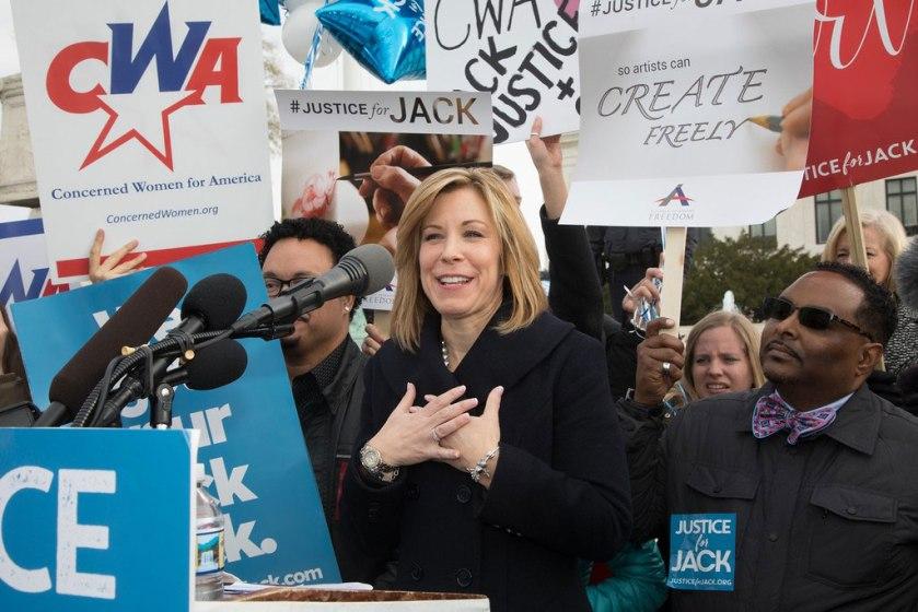 Kristen Waggoner of Alliance Defending Freedom argued Jack Phillips' case before the Supreme Court. (Photo: Jeff Malet/The Heritage Foundation)