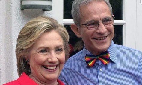 Wealthy Democrat Ed Buck and wealthy Democrat Hillary Clinton