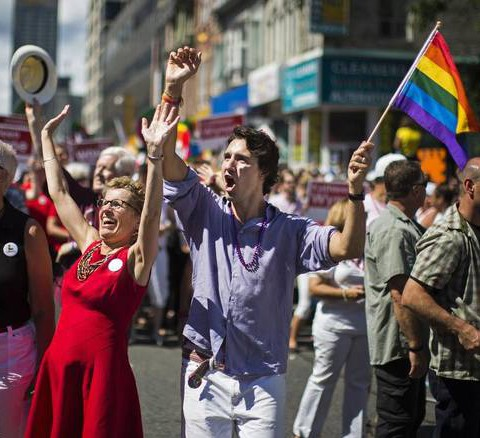 Kathleen Wynne and Justin Trudeau