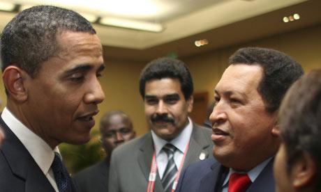 Three socialist fools: Barack Obama, Nicolas Maduro, Hugo Chavez