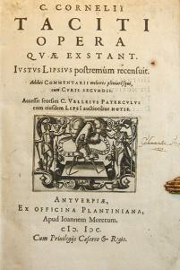 The Annals, by Roman historian Tacitus