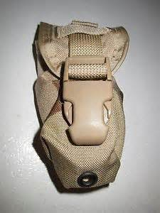 Military surplus flashbang grenade pouch