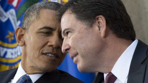 Barack Obama and his corrupt ally in the FBI