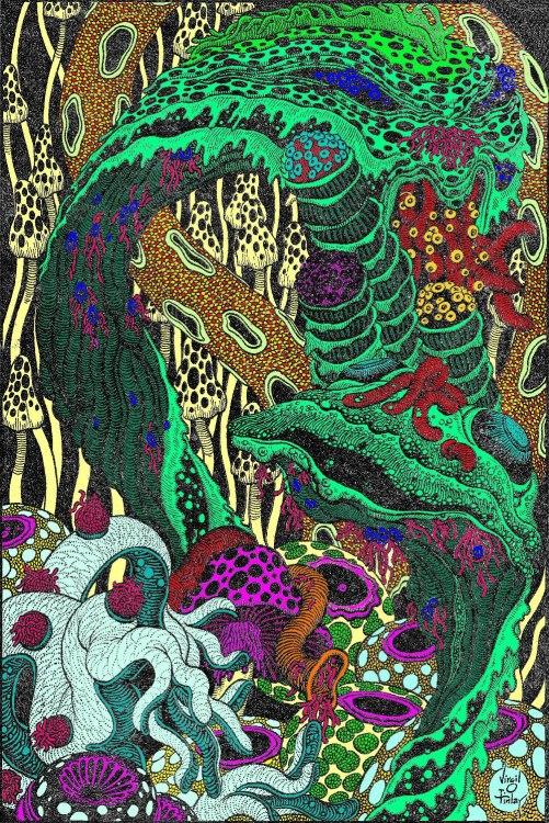 Finlay 01 Illustrating Leinster's Mad Planet Fantastic Novels Nov. 48